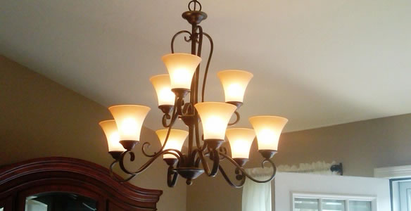 Chandelier Installation Dallas - On Call Electrical